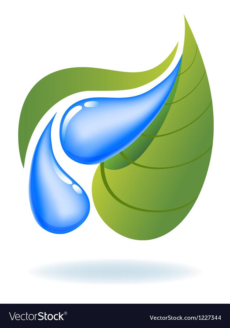Ecological icon vector
