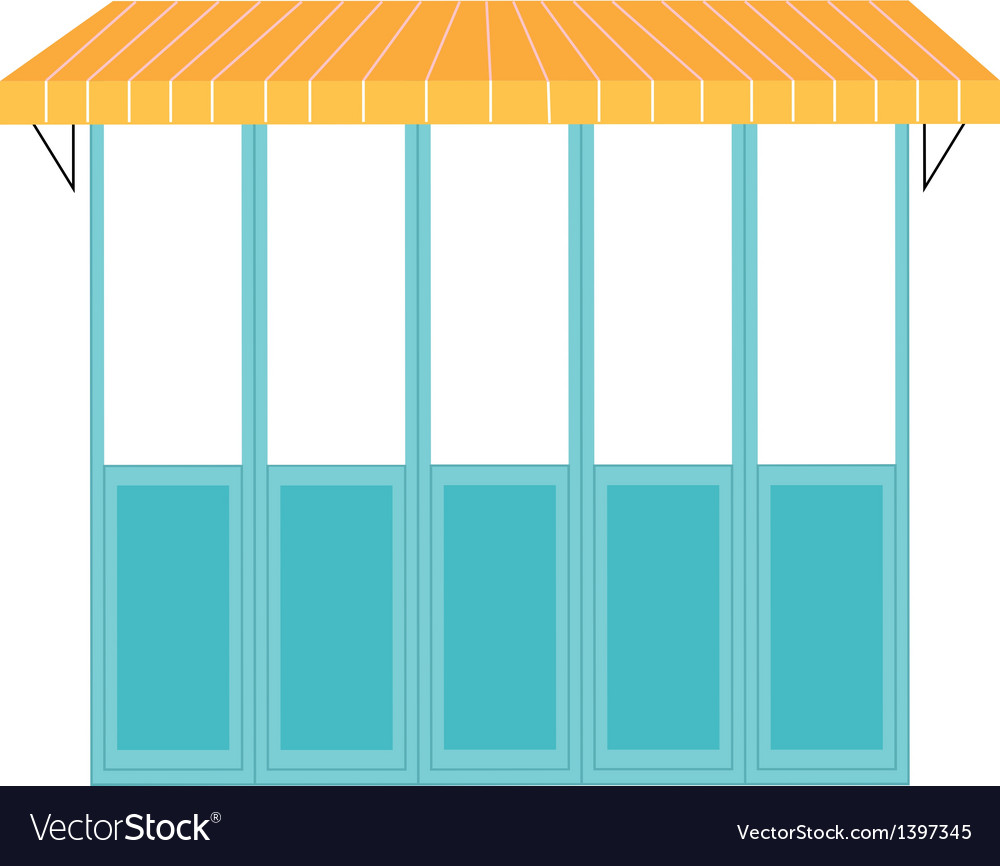 A view of window vector