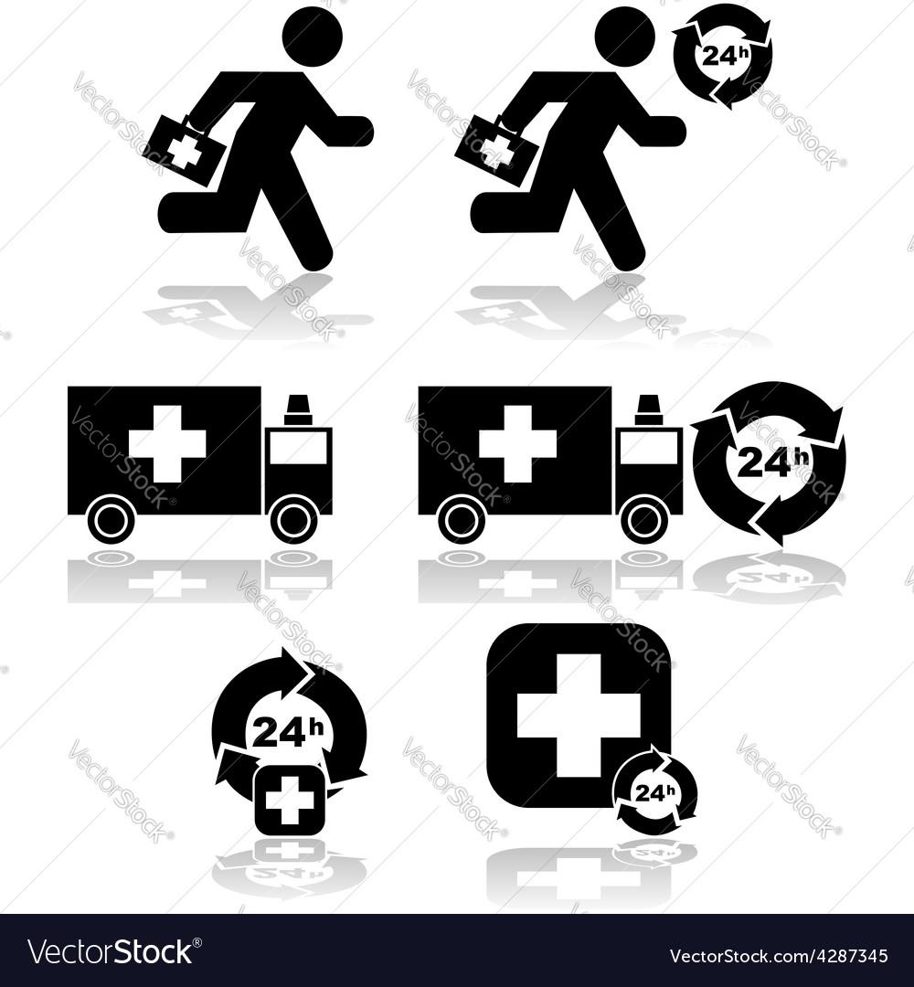 Health emergency vector