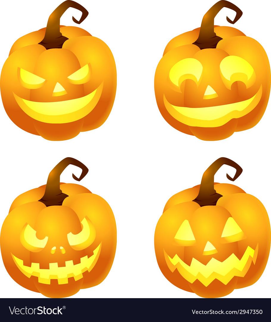 Pumpkinface vector
