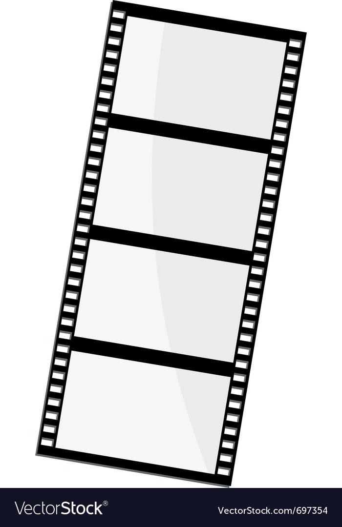 Of film frame vector