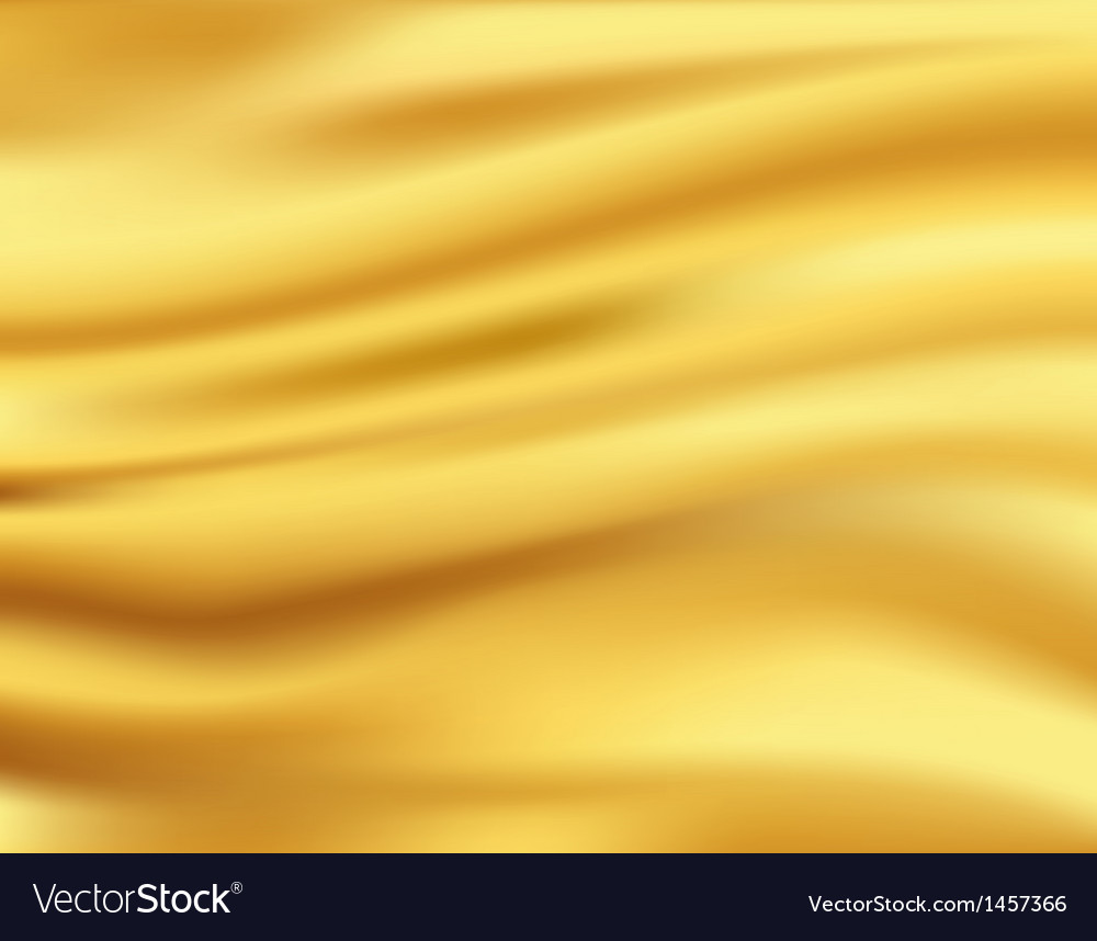 Yellow waves background vector
