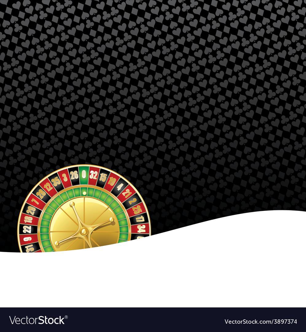 Stylized gambling background vector