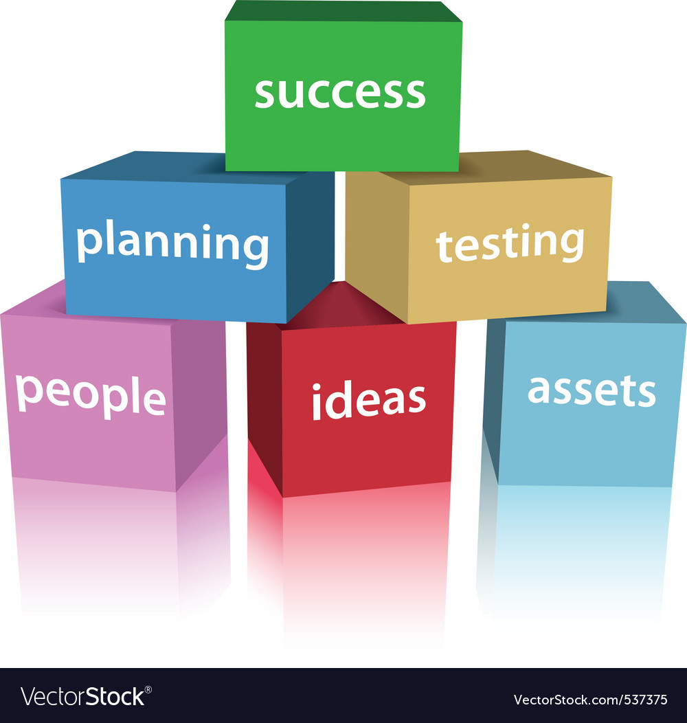 Success box vector