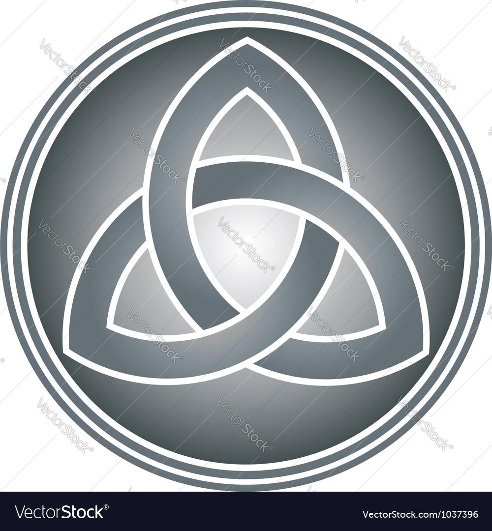 Celtic trinity knot vector