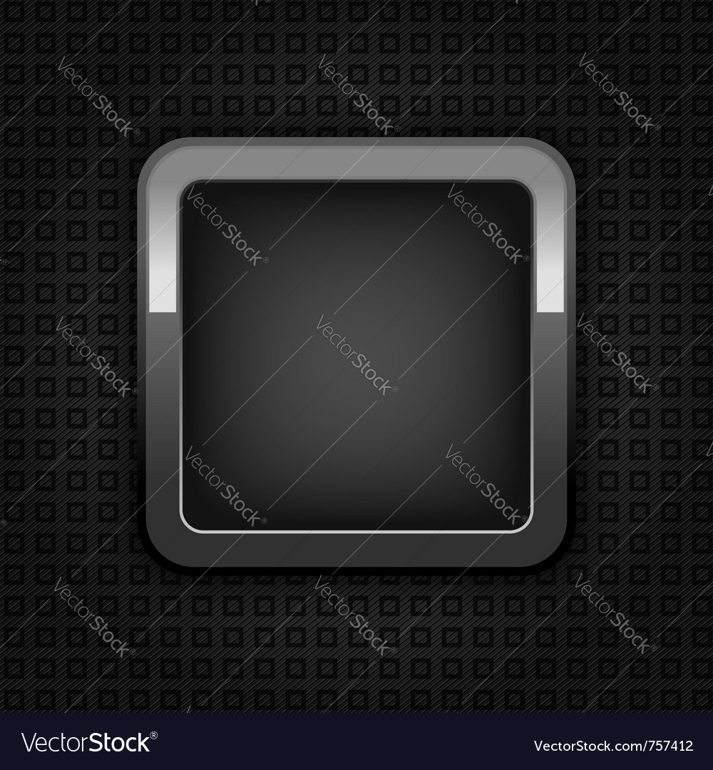 Chrome web button vector