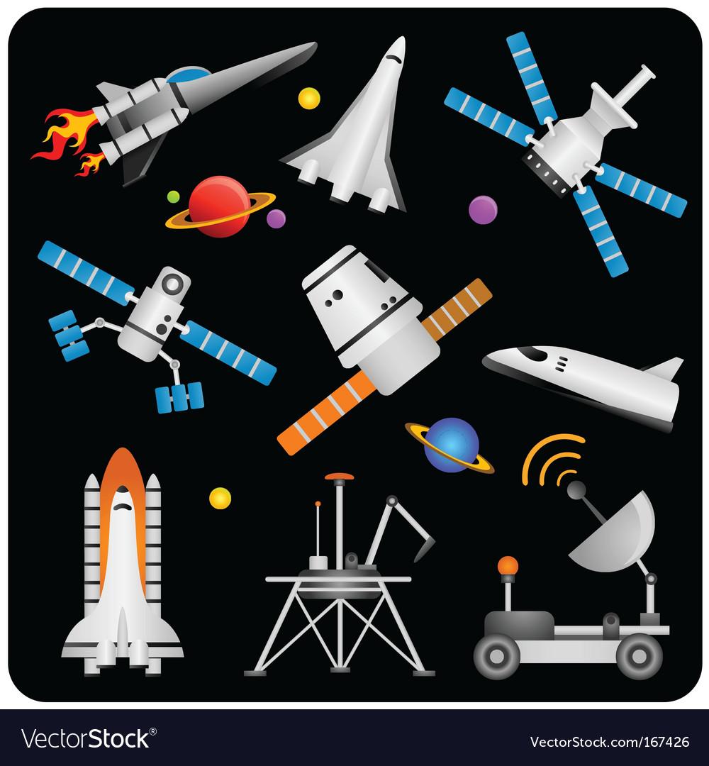 Space elements vector