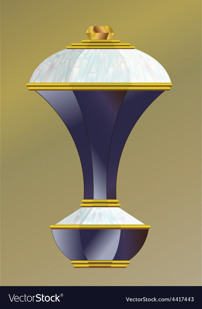 Crystal grip seven vector