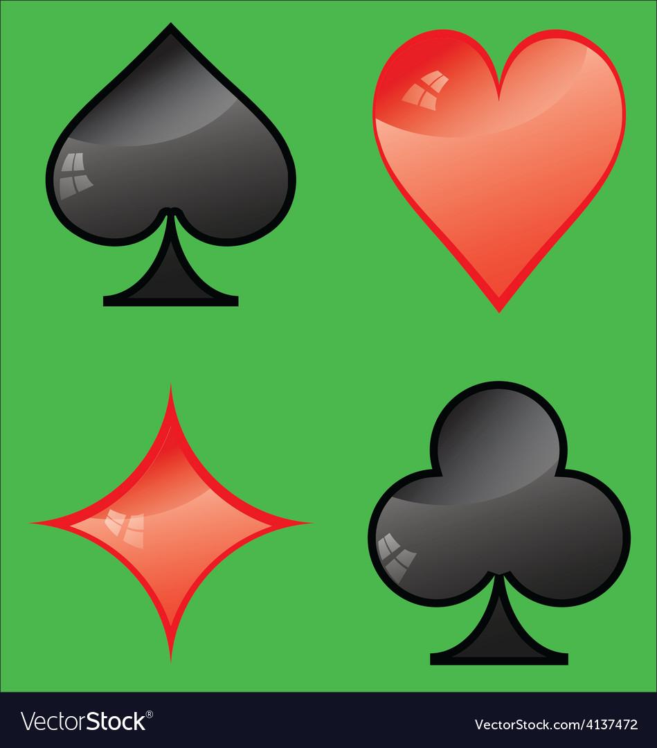 Card symbol vector