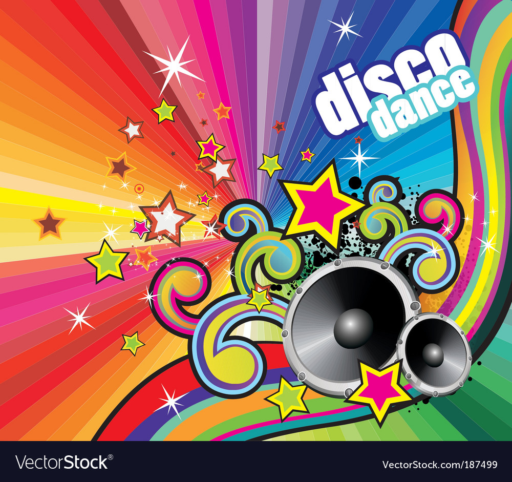 Dance dj vector