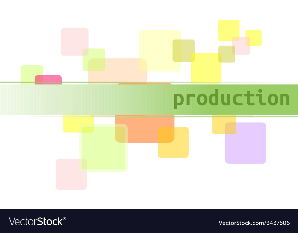Tag production vector