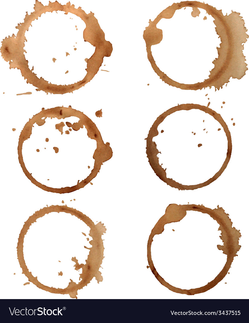 Traces coffee vector