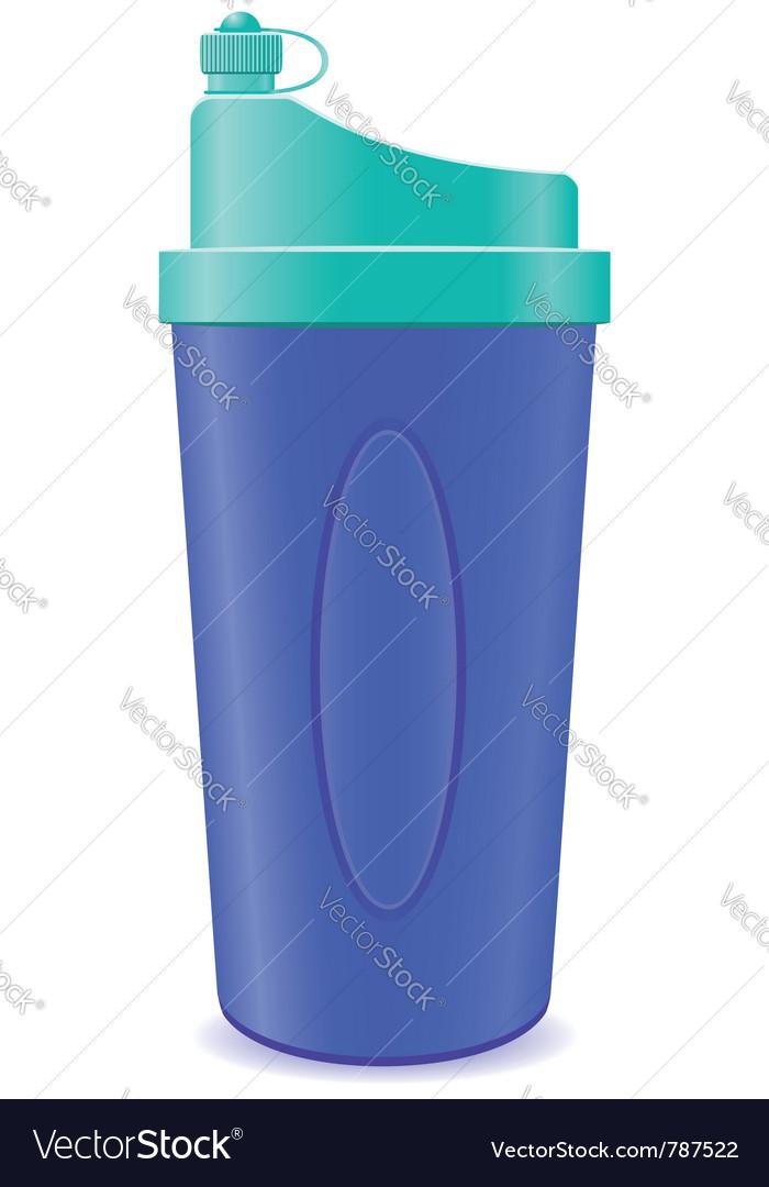 Shaker bottle vector