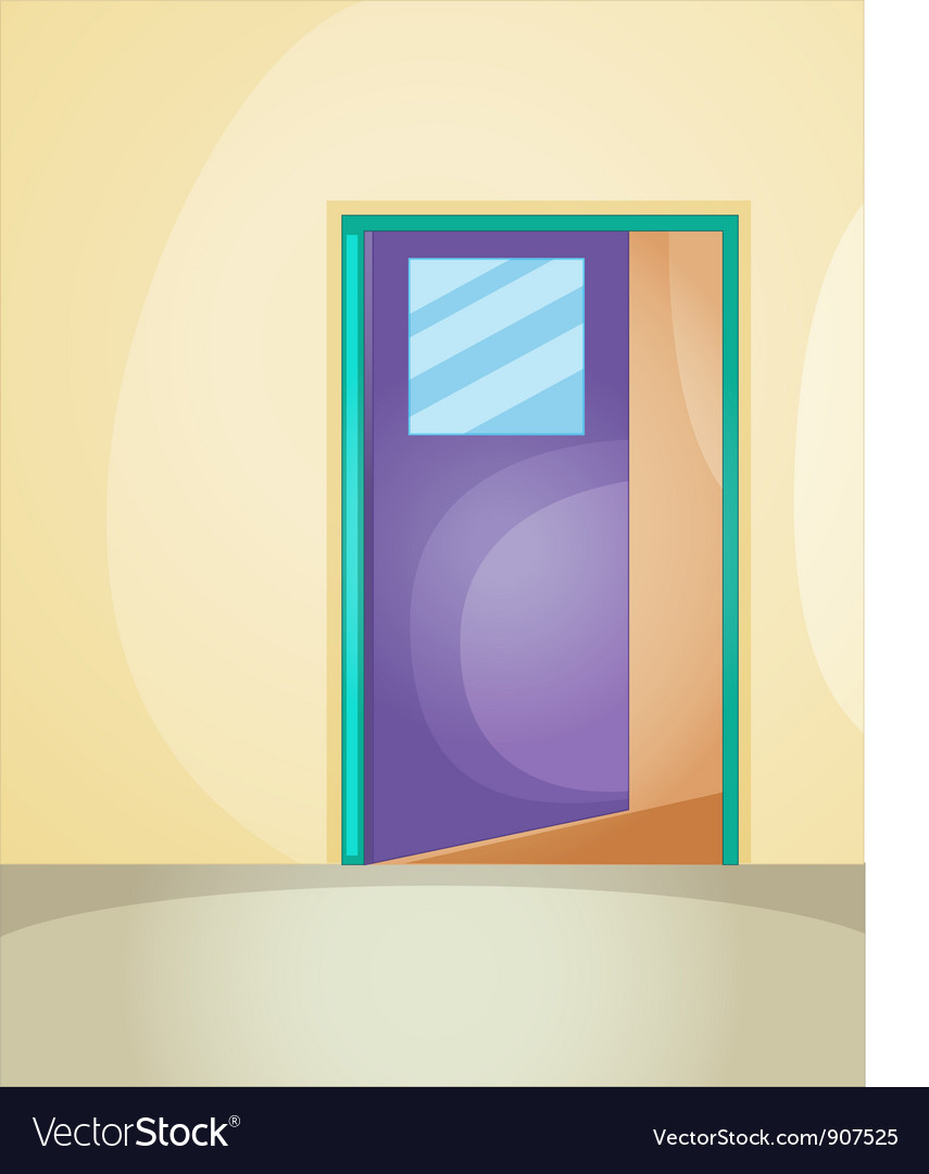 Door entrance vector