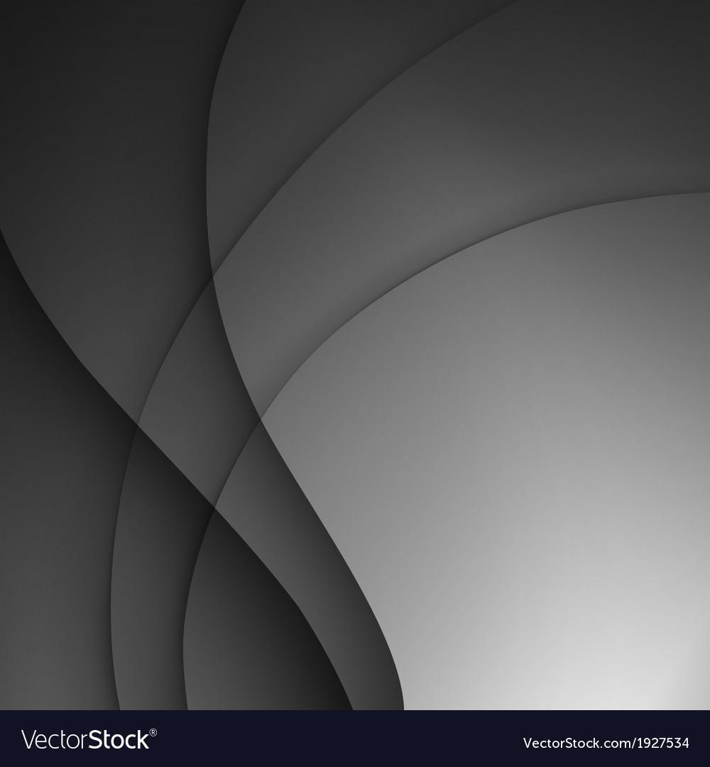 Dark gray elegant business background vector