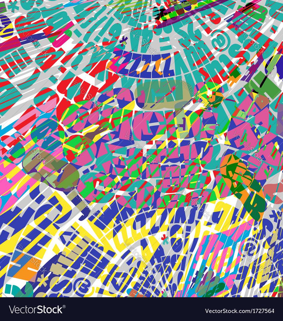 Scrapbook background vector