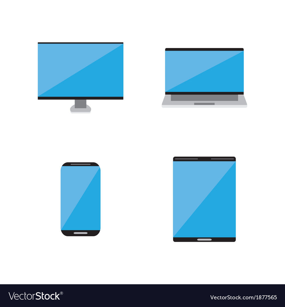 Smart technology icon vector