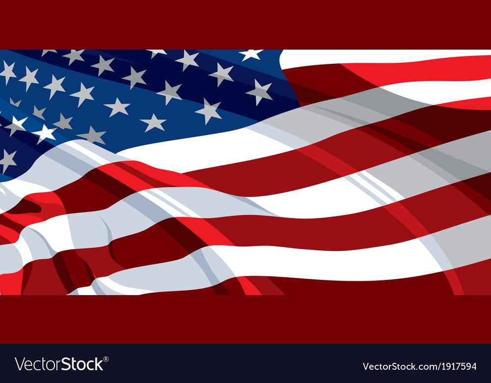 Usa flag vector