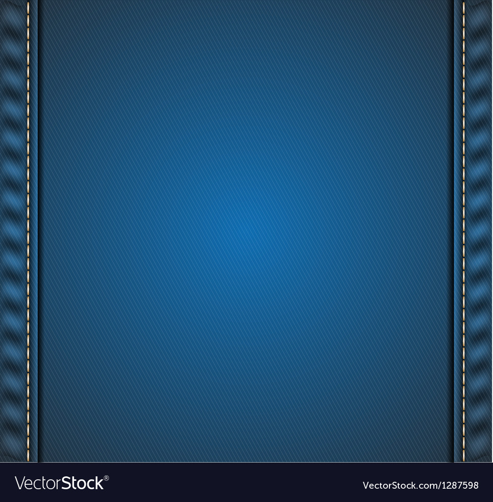 Denim background vector