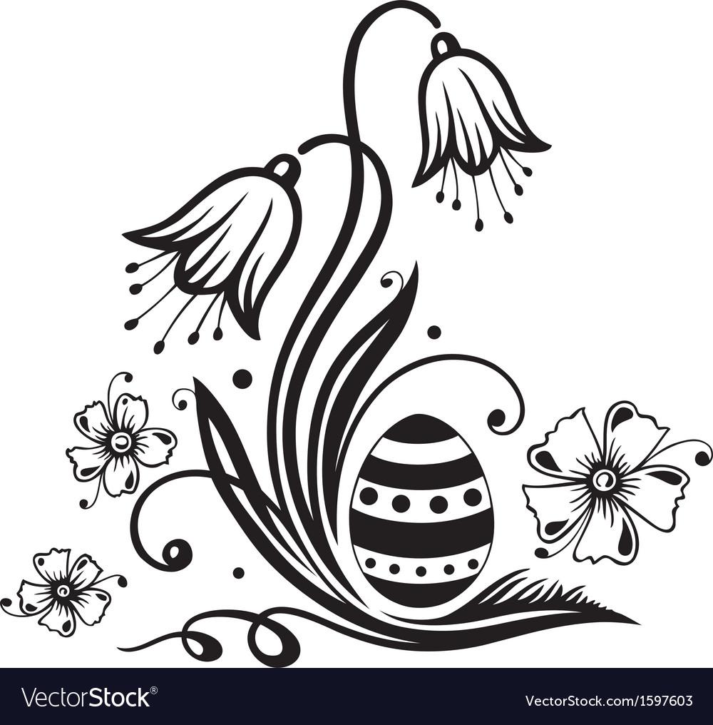 Easter easter egg vector