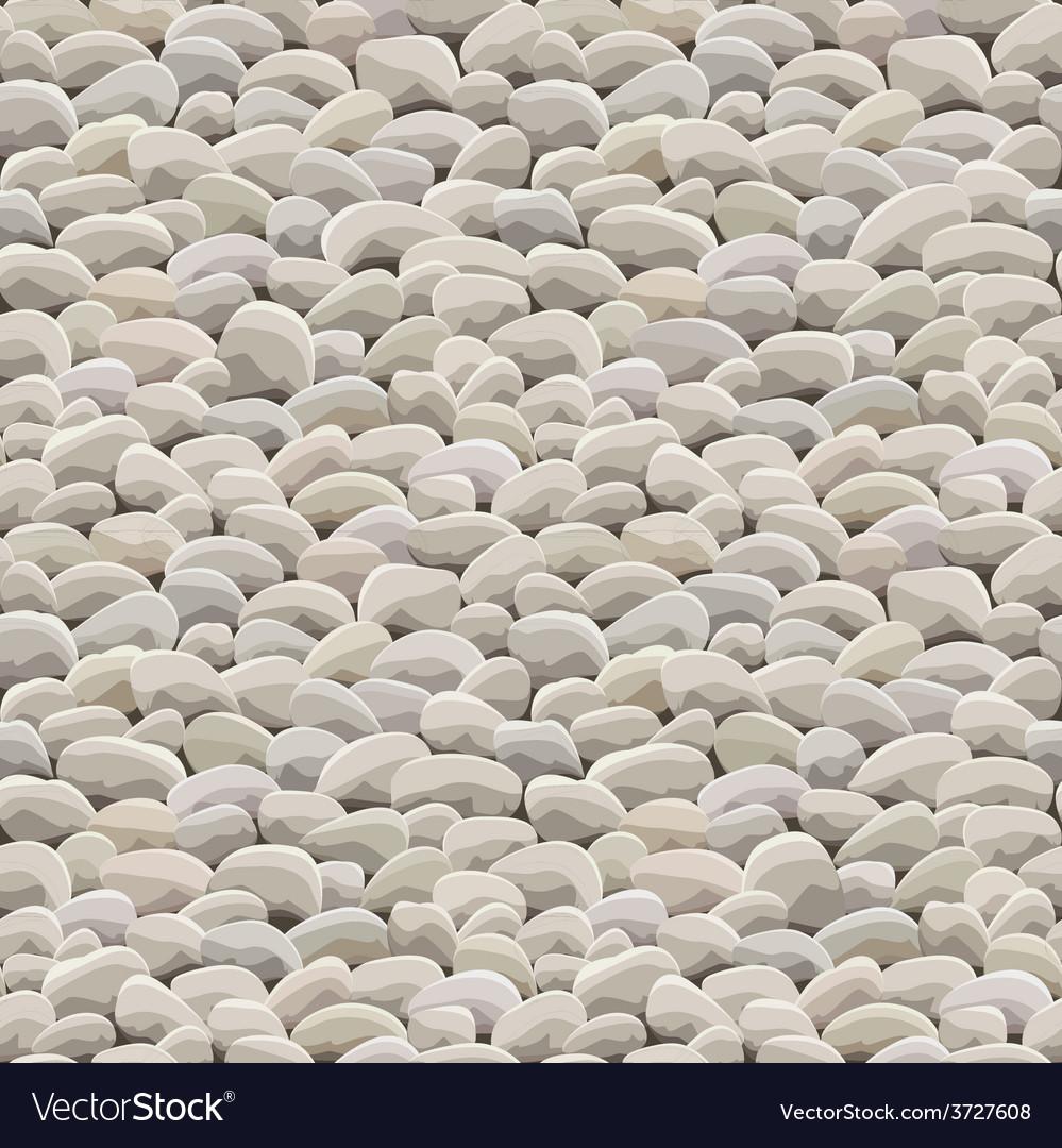 Stone rock ground seamless vector