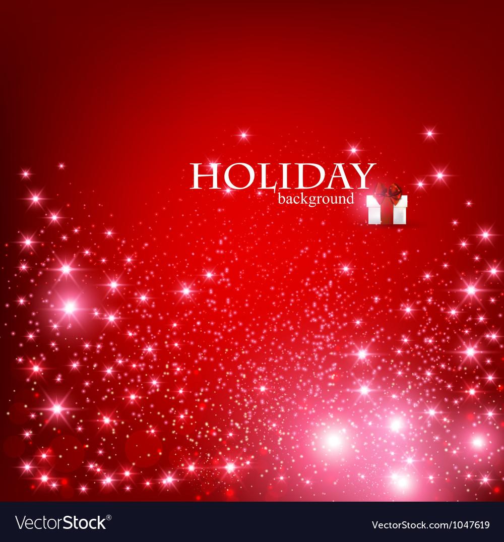 Christmas holidays background vector