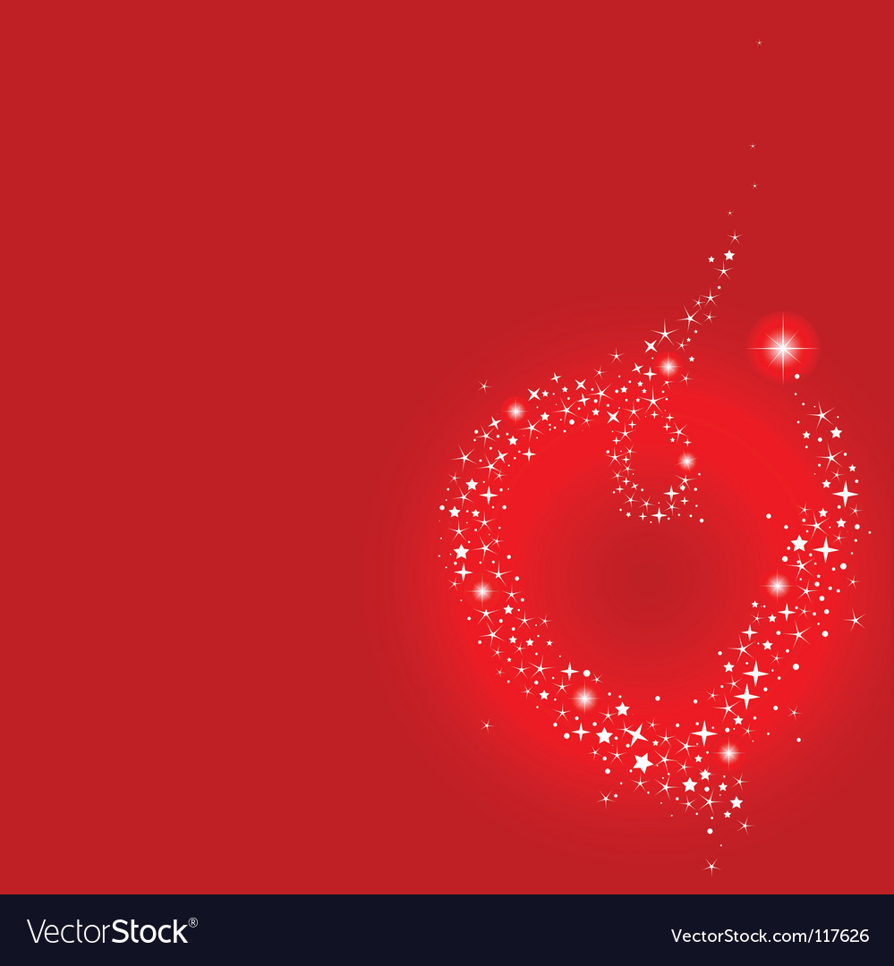 Stardust heart vector