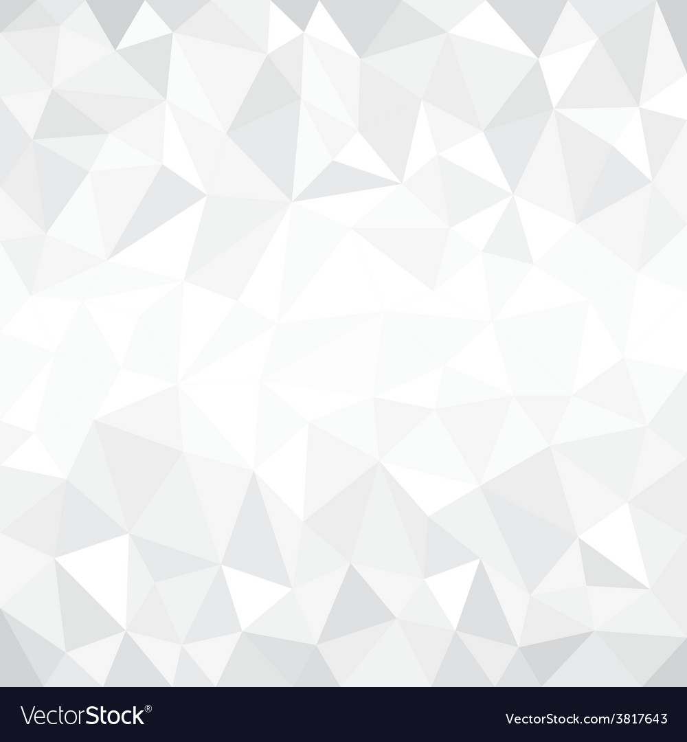Grey modern low poly background vector