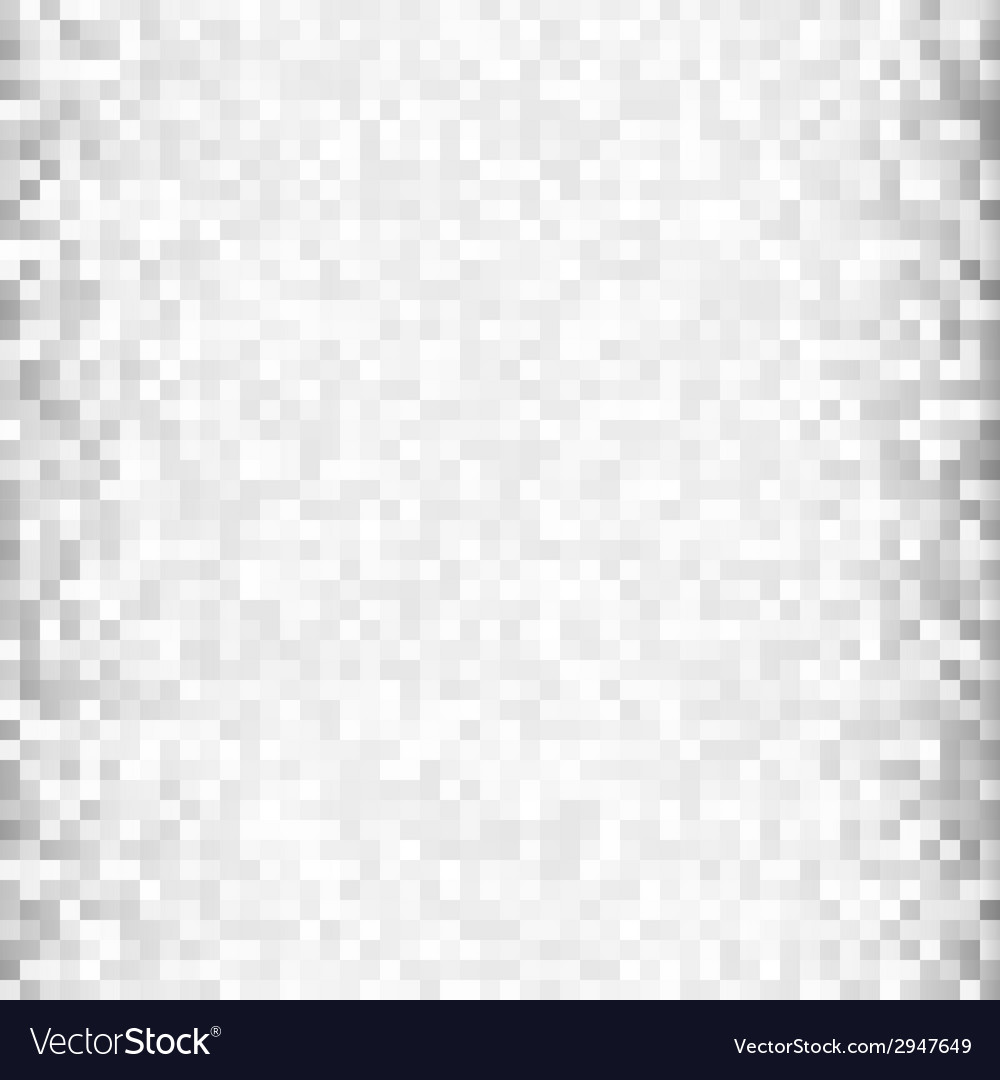Abstract gray pixel background vector