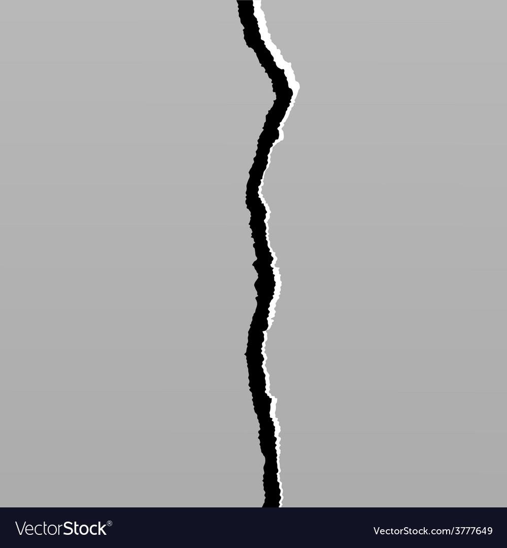 Earth crack 6 vector