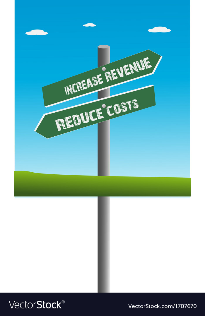 Revenue and cost vector