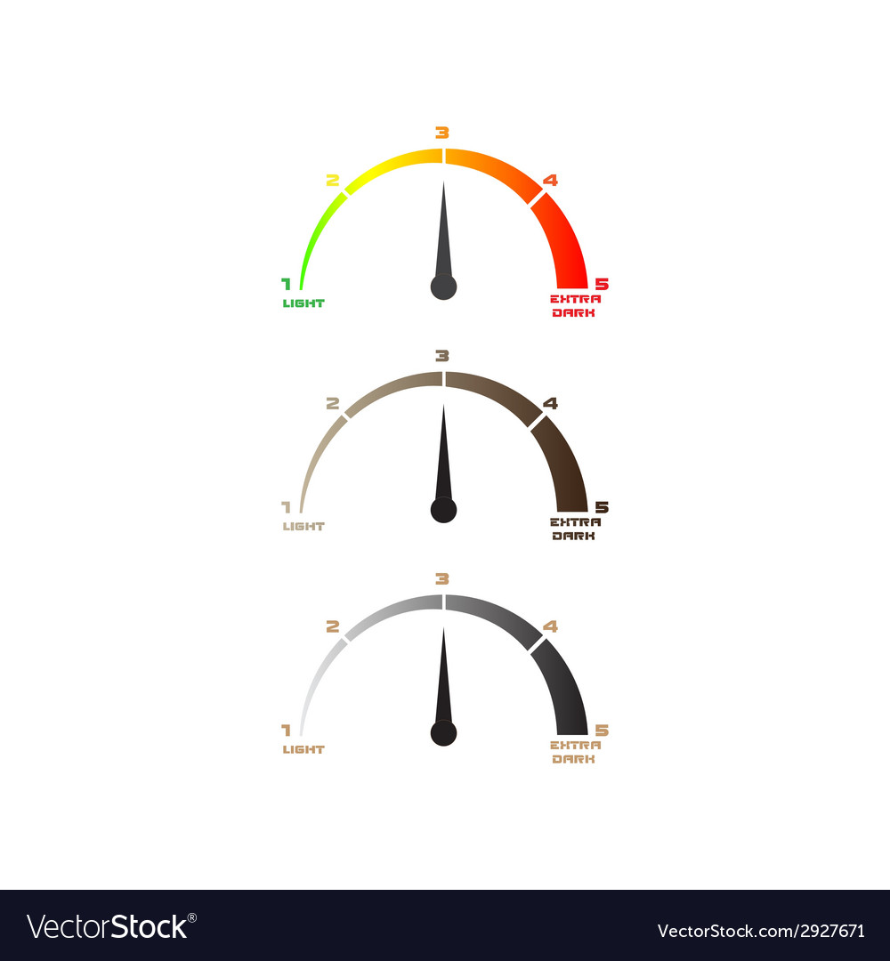Level scale coffee vector