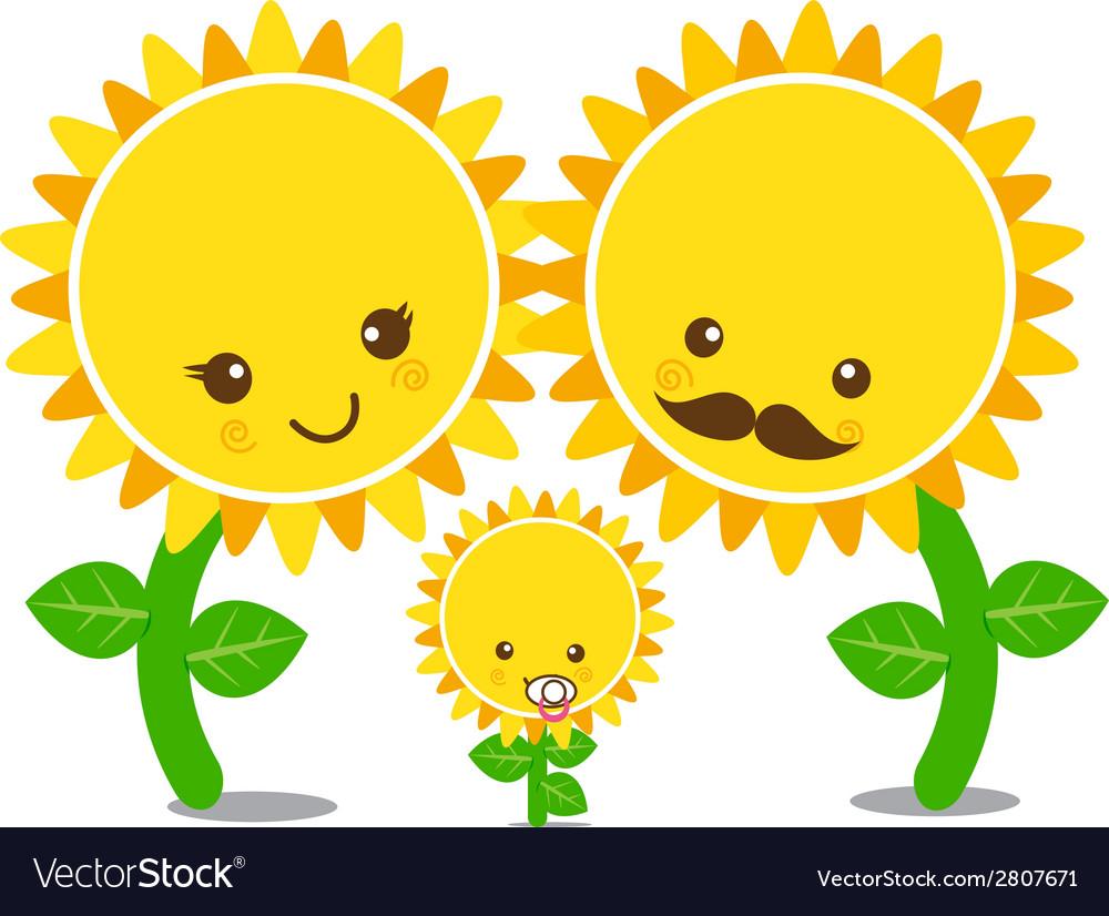 Sunflower 003 vector