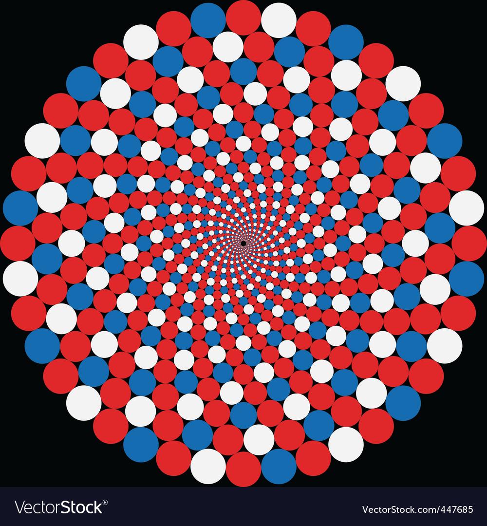 Rotating balls vector