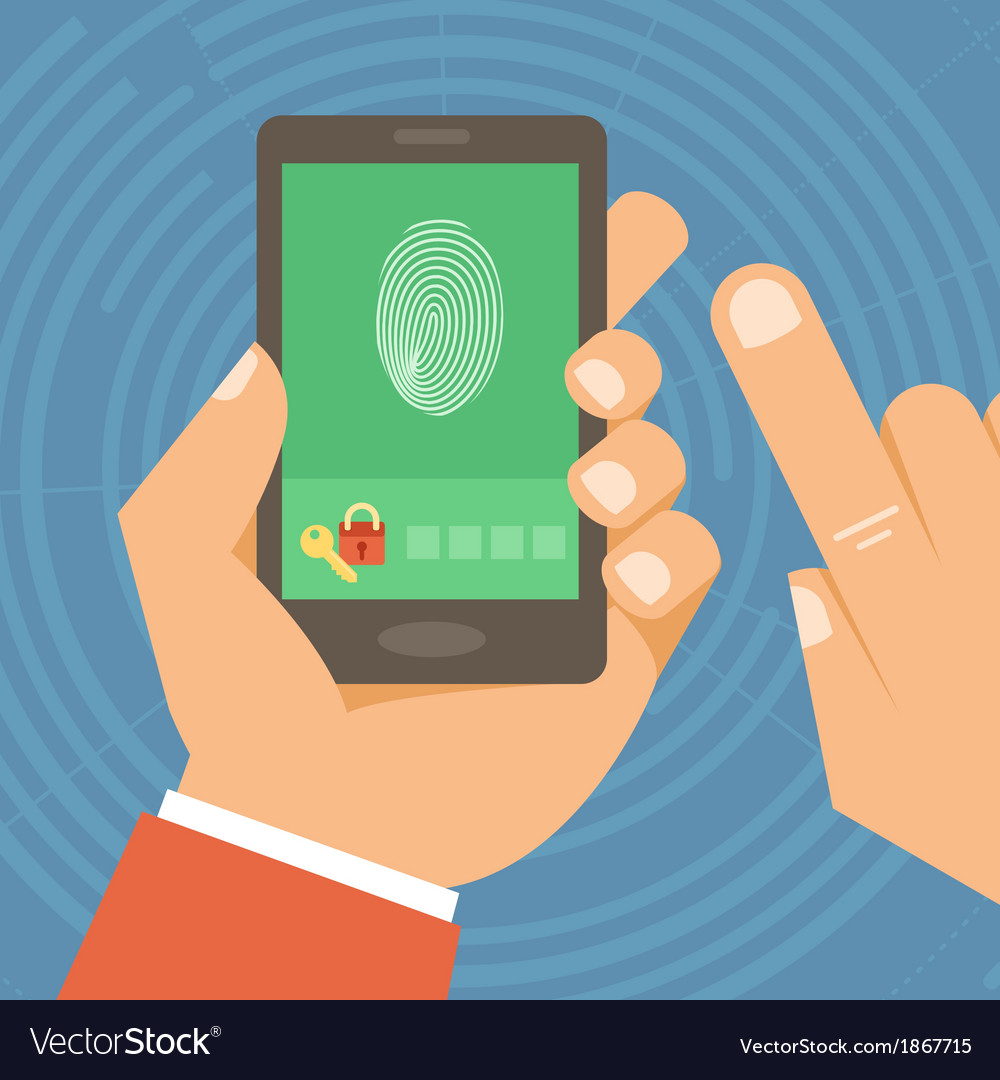 Mobile phone security vector