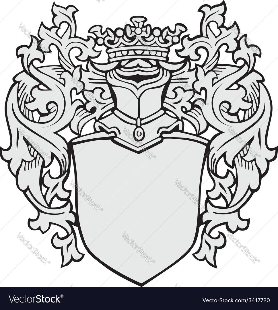 Aristocratic emblem no4 vector