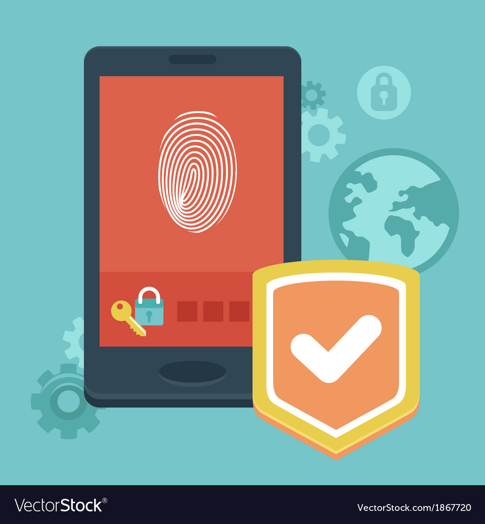 Phone security vector