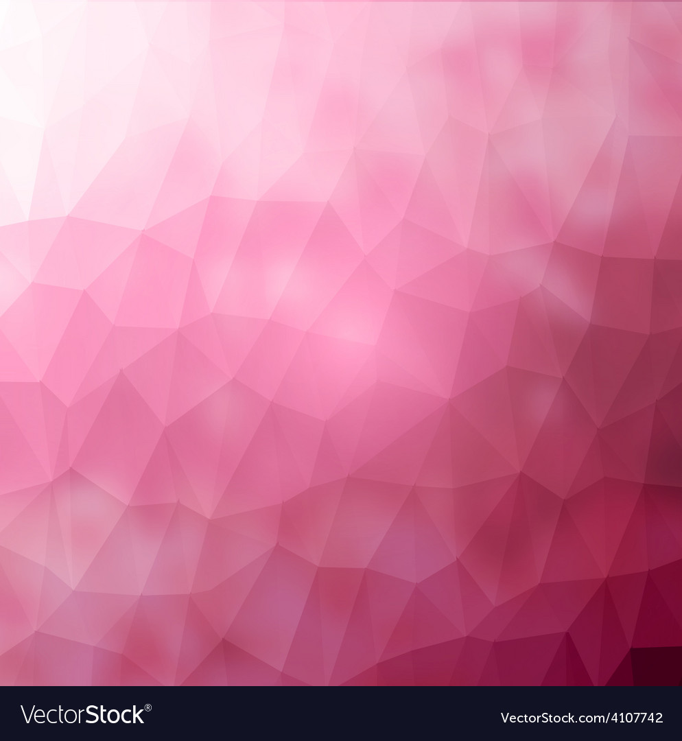 Abstract geometric rumpled triangular low poly vector