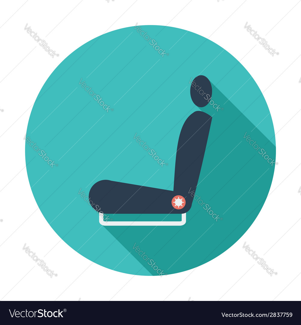 Icon seat vector