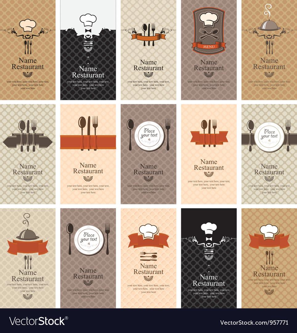 Food beverages vector