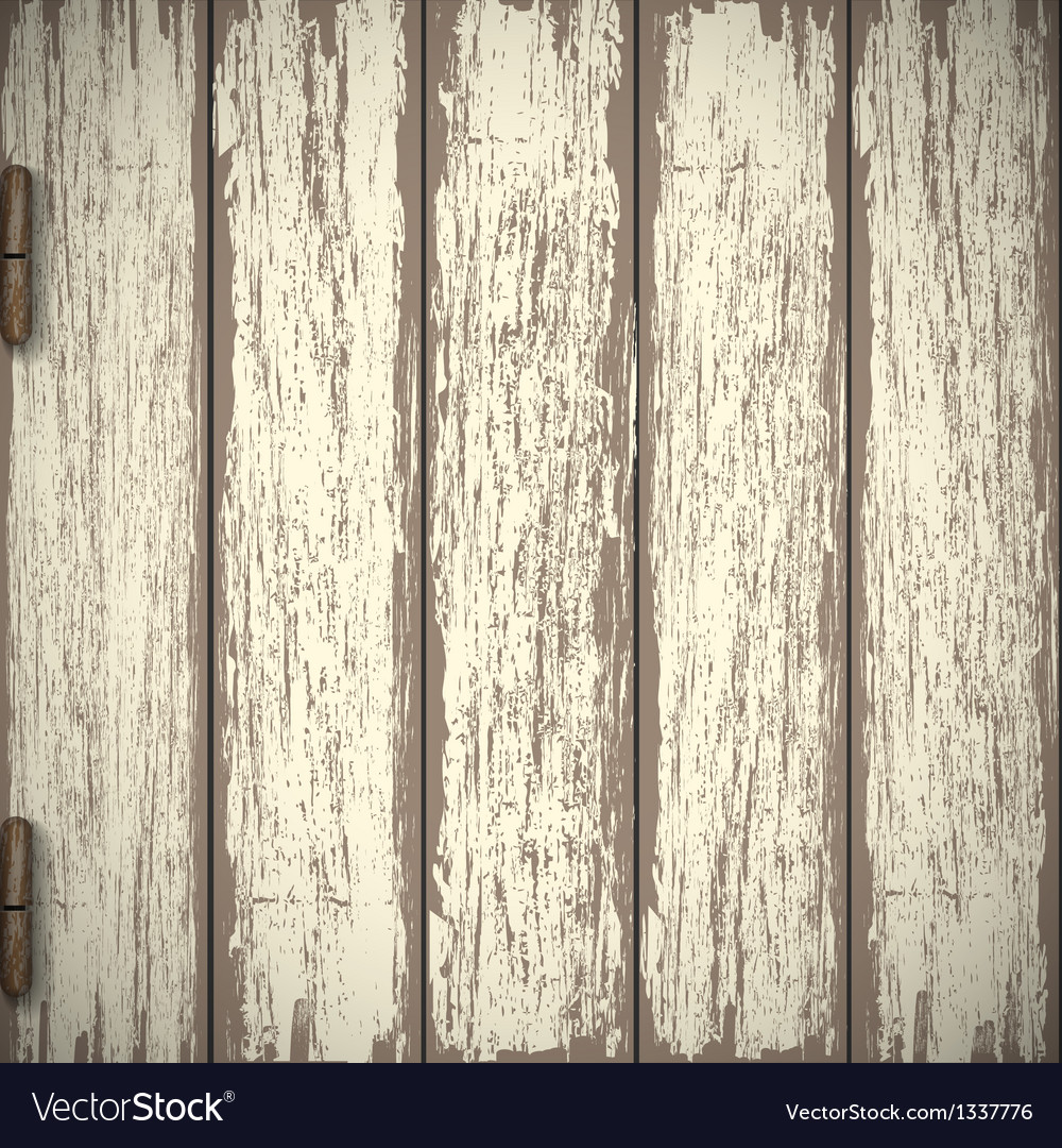 Old wooden textured background vector