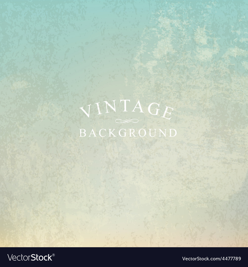 Vintage background with text template vector