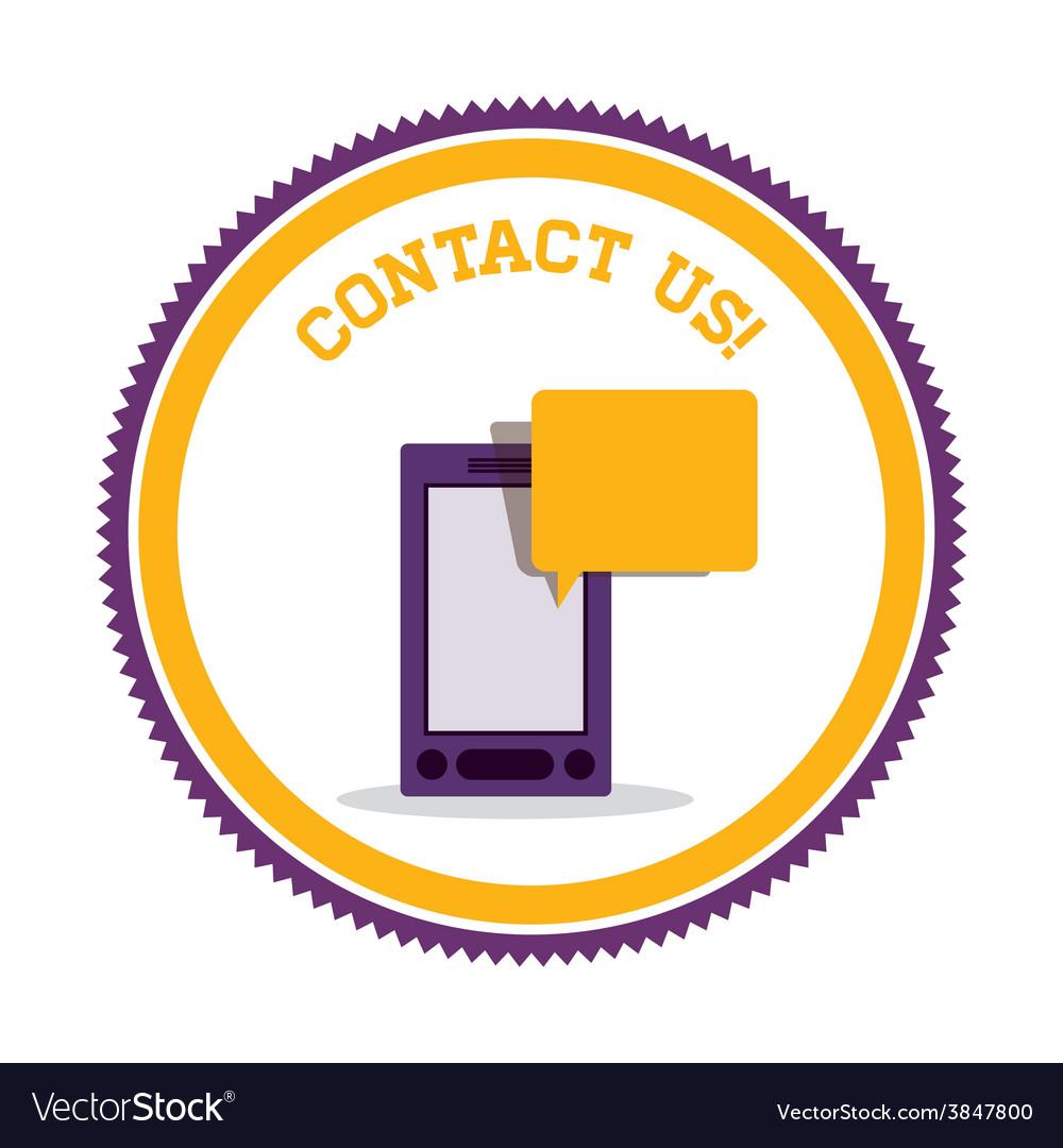 Call center design vector