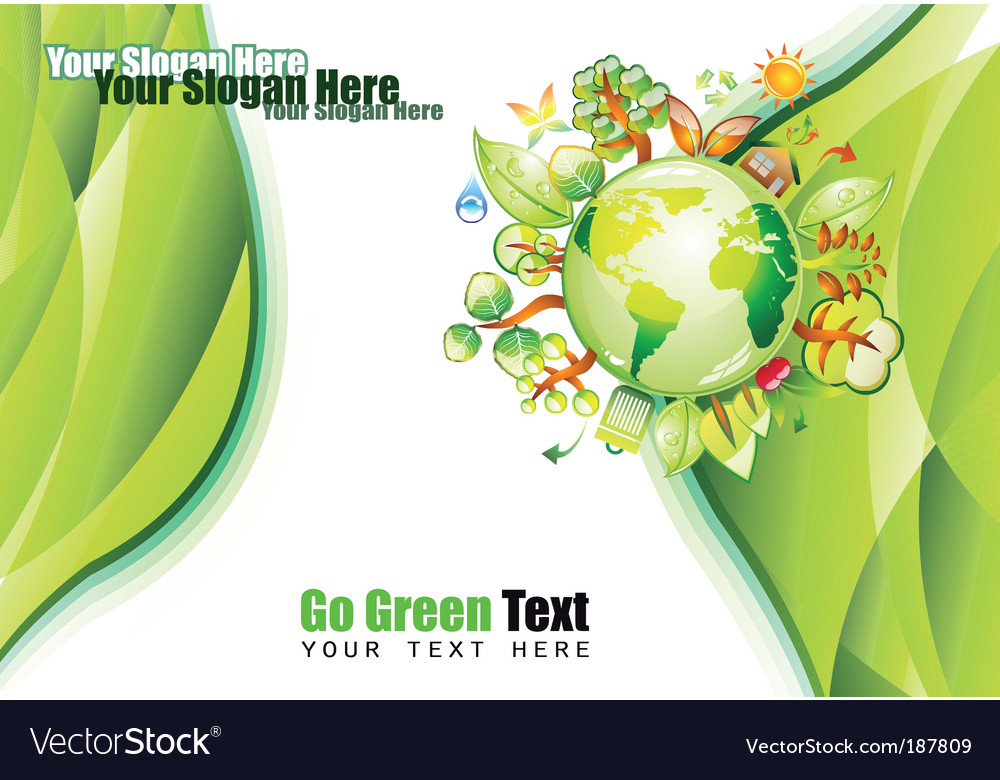 Environment background vector