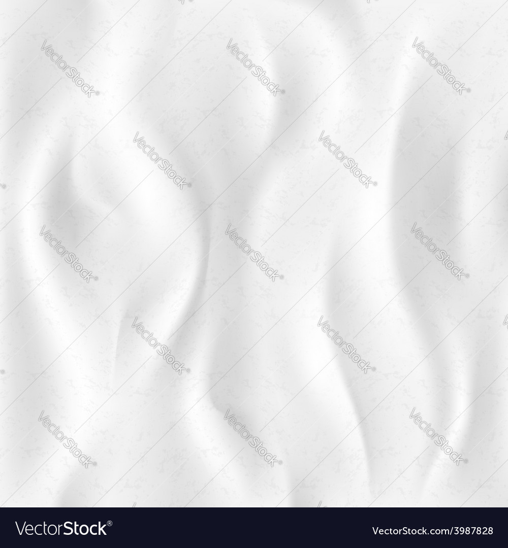 Background of white cloth vector