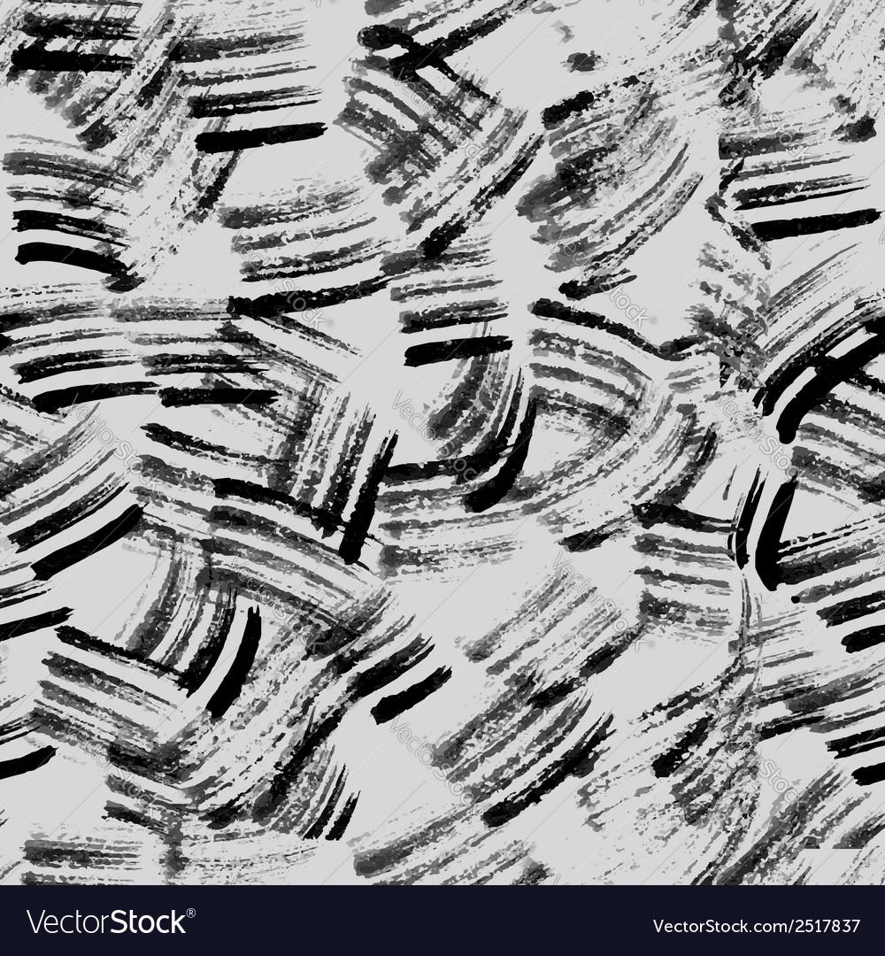 Grunge paint texture seamless pattern vector