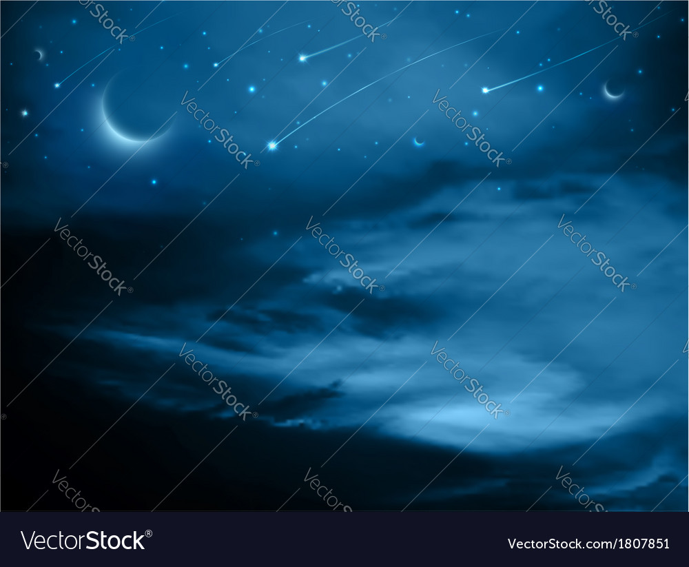 Fantasy background vector