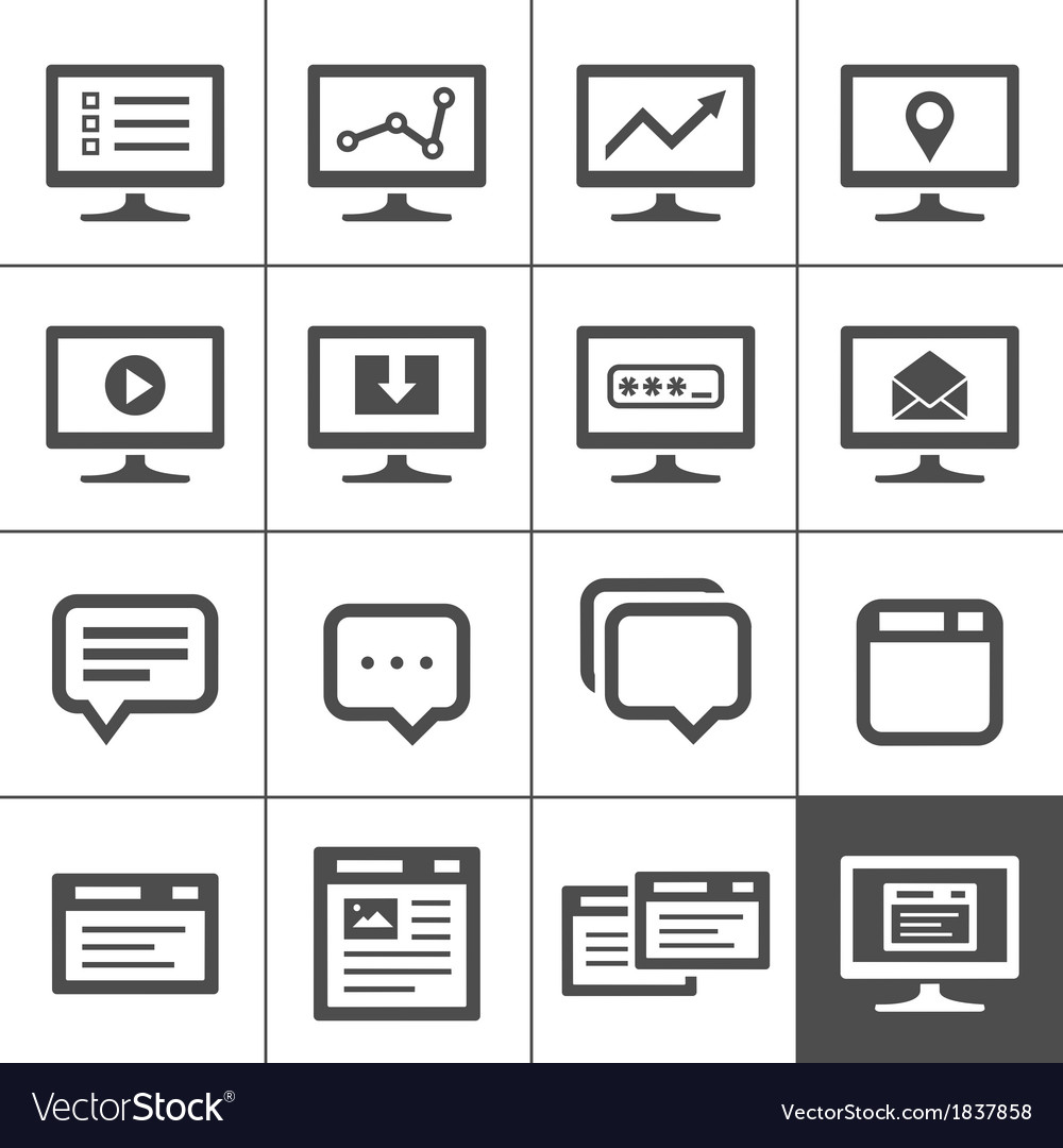 Dialog and message boxes vector