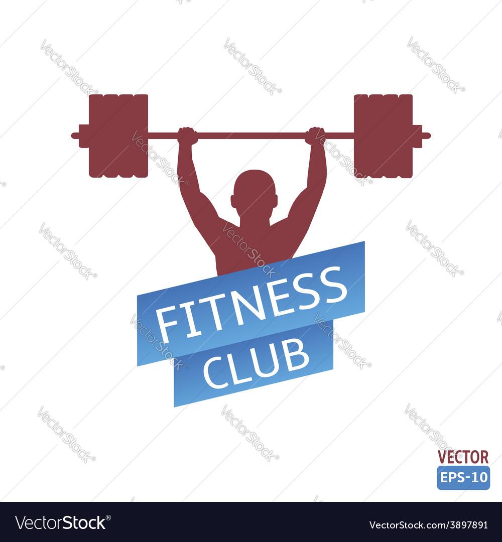 Fitness club vector