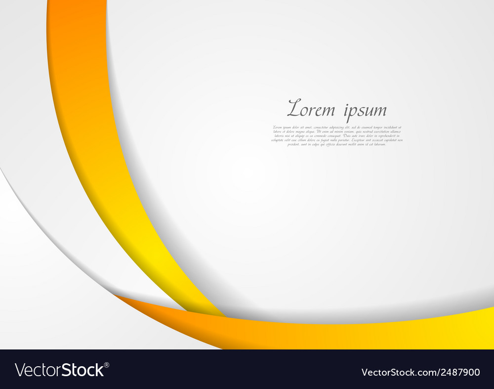 Abstract corporate wavy backdrop vector